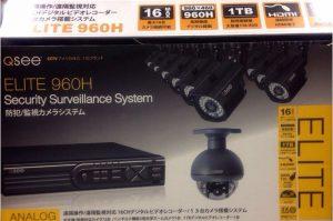 使用した防水全天候カメラ