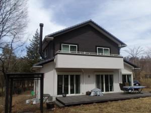 赤城の昭和村の我が家の別荘(標高750m)